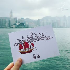 Postcard – Hong Kong