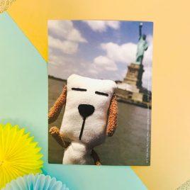 Postcard – Travel with Dottie (U.S.A.)