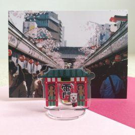 Dottie Stand/Keychain – Asakusa 浅草