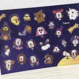 Sticker – Dottie Galaxy